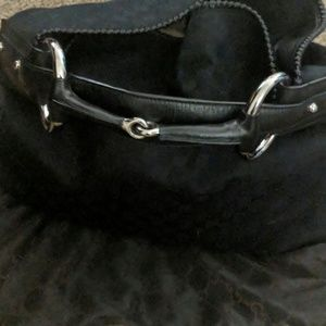 Gucci hobo bag with horse bit handle